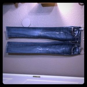 Miss Me Jeans Irene Straight Size 25